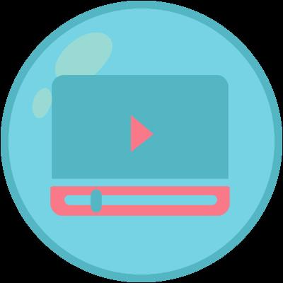 Um player de vídeo